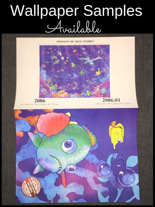 Grab a sample of this underwater mural from AboutMurals.ca