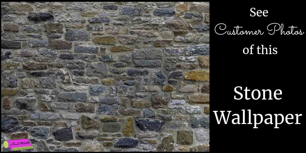 A blog about stone wallpaper sold by AboutMurals.ca