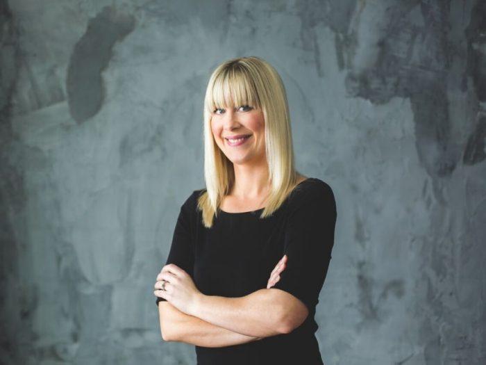 Adrienne Scanlan, owner of AboutMurals.ca
